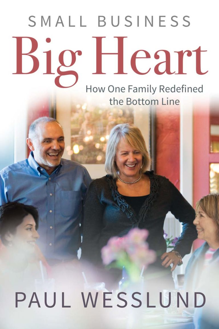 Book Image Small Business Big Heart by Paul Wesslund