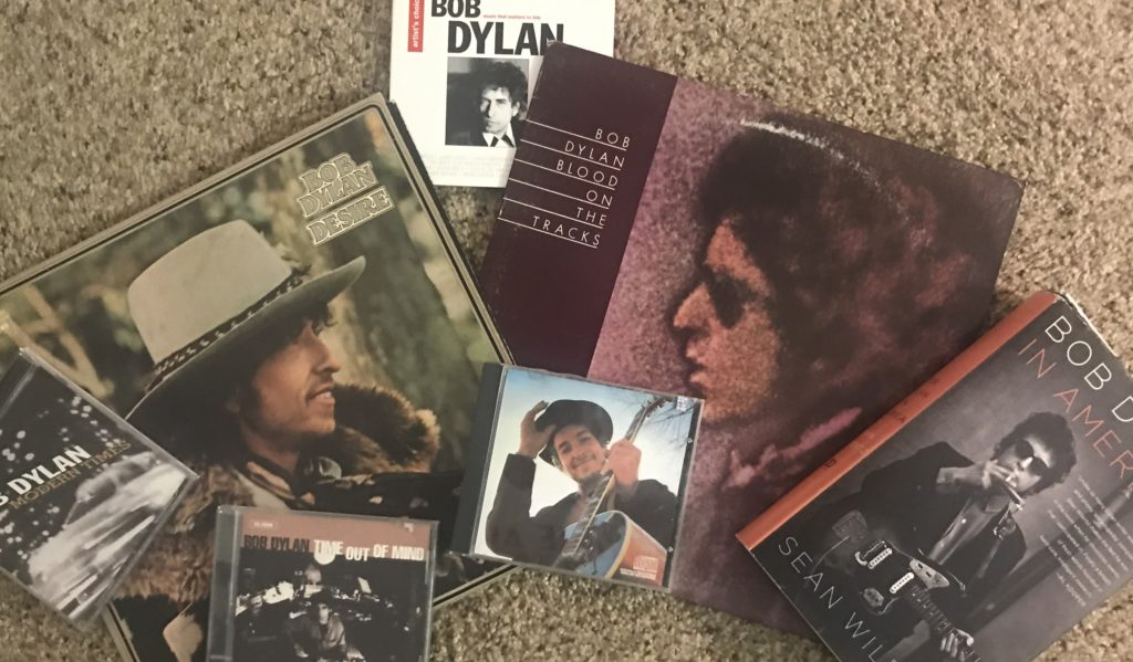 Some of my Bob Dylan collection from over the years